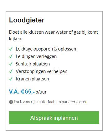 Loodgieter 1